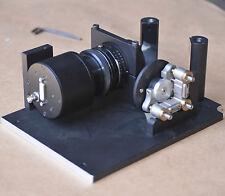 Optical Spectrometer Linear Array CCD Detector Nikon AF 1:1.8 optics base