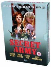 Secret Army The Complete BBC Series 3 (4 DVD Box set) Bernard Hepton NEW