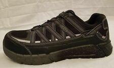 Keen Utility Mens Size 8 D Asheville Black ESD Aluminum Toe Work Shoes 1017070