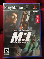 MISSION IMPOSSIBLE OPERATION SUMA Sony PLAYSTATION 2 PS2 PAL FR ++ 100% NEUF ++