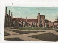 St Cross Hospital Winchester Vintage Postcard 659a