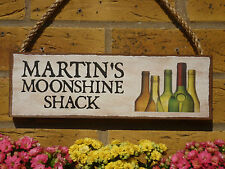 PERSONALISED GARDEN SIGN SHED SIGN BREWERY HOME BREWING BEER MAKING OWN NAMES