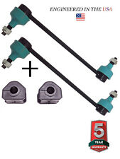4PC FORD WINDSTAR TAURUS MERCURY SABLE CONTINENTAL FRONT SWAY BAR LINKS BUSHINGS