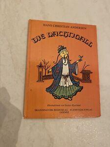 Der Nachtigall Märchen 1979 Hans Christian Andersen,, Kinderbuch, Buch