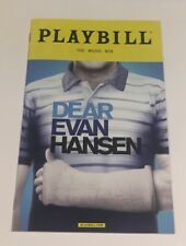 Dear Evan Hansen Playbill