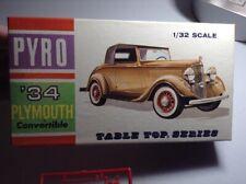 1967 Pyro Models 1/32 '34 PLYMOUTH CONVERTIBLE *NMIB*