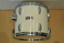 """1980's YAMAHA TOUR CUSTOM 12"""" TOM in PURE WHITE for YOUR DRUM SET! LOT #F764"""
