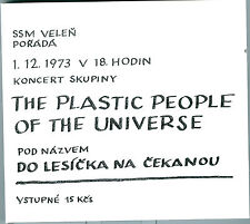PLASTIC PEOPLE OF THE UNIVERSE - DO LESICKA NA CEKANOU lim.edition 300pcs # 2 CD