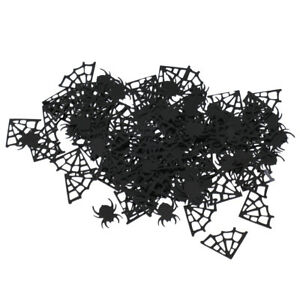 Spider Webs Spider Table Confetti Halloween Boys Birthday Party Decor 15g