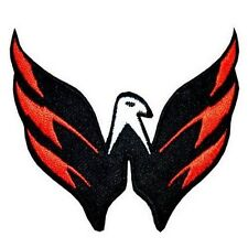 """Washington Capitals Eagle 2.5"""" x 3.25"""" Sew Ironed On Embroidery Applique Patch"""