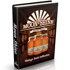 Distilling Books 179 Old Books on DVD Vintage Homebrew Moonshine Whisky Brewing
