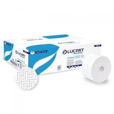 12 Ro. Lucart Toilettenpapier Jumbo Roll 2-lag. Strong 900 ID f. Autocut Spender