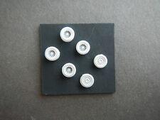 N Scale Medium Duty Alloy Wheels for Model Train Showcase Miniatures (W24001)