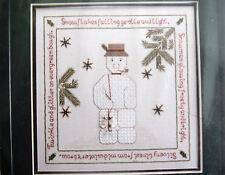 Winterland - Snowman Cross Stitch Pattern - Lois P Norford