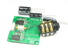 D2 High Fideility Headphone Amplifier w/Dual TPA6120A2 C0G 4000uF