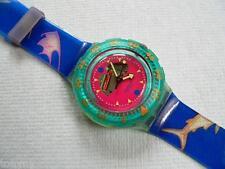1991 Happy Fish Scuba 200 Swatch Watch New