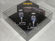 1:43 ONYX TWIN SET 1995 WILLIAMS RENAULT FW17 DAVID COULTHARD AND DAMON HILL
