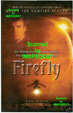 2002 Firefly Tv series Premiere Ad Joss Whedon Serenity Mal Great Photo Print Ad