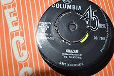 "THE SHADOWS       SHAZAM   --GERONIMO          7"" VINYL    FREE POST"