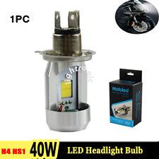 1X H4 HS1 40W 4000LM High Low Beam LED Motorcycle Headlight Kit Bulb Fog Lamp