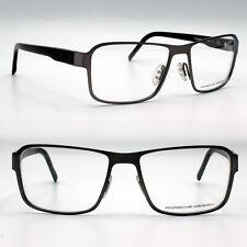 Porsche Design new eyeglasses for men brown metal optical frame P8290 C 56 mm