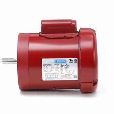 110492.00 1/2HP LEESON Electric Motor, Tefc, 1725 Rpm, 56C Frame, 1 Ph. 115/230V