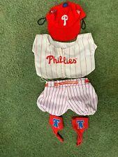 Build A Bear Workshop Philadelphia Phillies Baseball Outfit Uniform with Hat