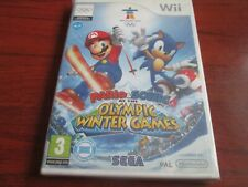 Mario & Sonic at the Olympic Winter Games (Nintendo Wii) NEW AND SEALED UK PAL