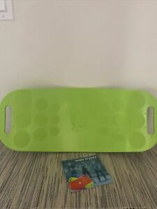 Simply Fit Workout Balance Board w/ A Twist Blue 30046 w/CD & User Guide