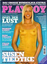 PLAYBOY 2001/08 [August 8/01] *Susen Tiedke* Catharina Lönnig *Mariah Carey* TOP