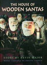 House of Wooden Santas (Northern Lights Books for Children)-ExLibrary