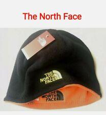 The North Face Sombrero del Invierno/Taza/Beanie/moda Unisex// Esquí/dos Caras/Naranja/Negro