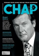 The Chap Magazine Roger Moore JAMES BOND Peter Whitehead Nickolas Grace NEW