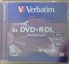 DVD+R 8,5 GB DL Verbatim 8x speed 1 Stück im JC