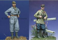ALPINE M Russian Tank Crew Set 35014 WW2 1/35th non peinte Kit