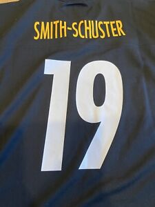NWT NFL Team Apparel JuJu Smith-Schuster #19 Pittsburgh Steelers Jersey Youth L