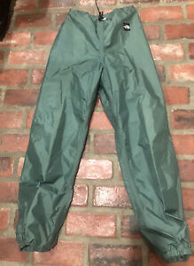 VTG North Face Gore-Tex Waterproof Ski Pants Green Mens Size Medium
