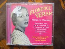 CD FLORENCE VERAN - Les Trésors Oubliés De La Chanson / ILD 642296 (2010)  NEUF