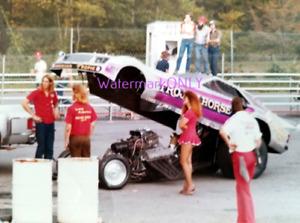 """Trojan Horse"" Larry Fullerton & ""Emel"" Ford Mustang NITRO Funny Car PHOTO! #50"