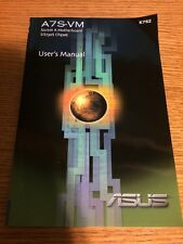 E776 A7M266 SOCKET A MOTHERBOARD AMD 761 CHIPSET DDR RAM USER'S MANUAL  (BOOK)