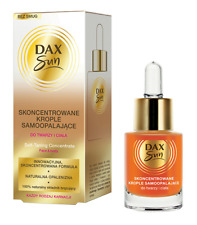 DAX SUN SELF-TANNING CONCENTRATED DROPS FACE & BODY NATURAL TAN