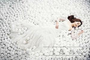 Wholesale 600PCS Soft Plastic Pit Large Ball White Balls Dia. 7cm CE Mark