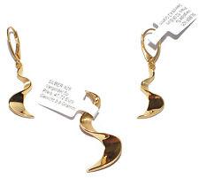 ECHTES 925 Silber Schmuckset - Silber 925 vergoldet mit Gelbgold 5 Mikron - TOP