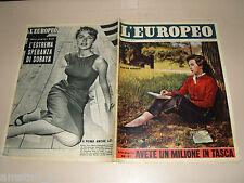EUROPEO=1956/39=MARISA BORRONI=CALANNA=ARTHUR RUBINSTEIN=AURELIO ROBOTTI=