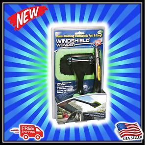 Windshield Wonder Microfiber Long Handled Cleaning Tool- BRAND NEW