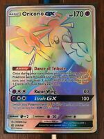 Pokemon Card  ORICORIO GX  Secret Rare  255/236 COSMIC ECLIPSE *MINT*