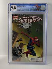 Amazing Spider-Man #1 2014 CGC 9.8 Opena variant 1:75 1st Cindy Moon Marvel