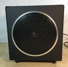 logitech S-00076A computer speaker Sub-Woofer Black