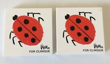 Lot of 2 Vera for Clinique Ladybug All About Eyeshadow Duo / Blush 1 of Each