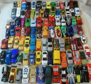 Huge Lot Diecast Cars 100 cars Hotwheels,Tonka,Matchbook & Misc.